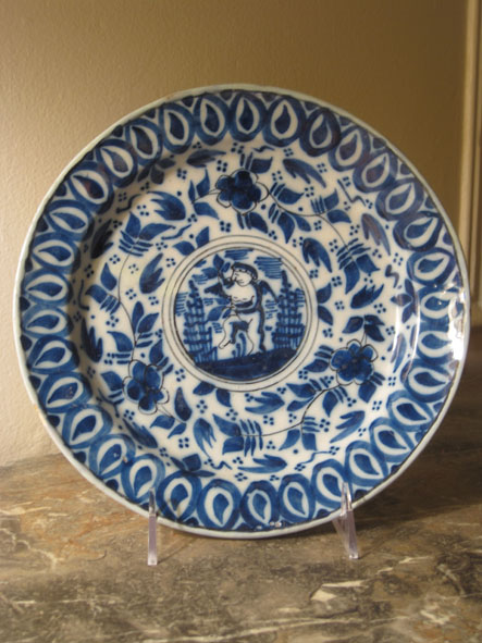 Assiette en porcelaine de Chine